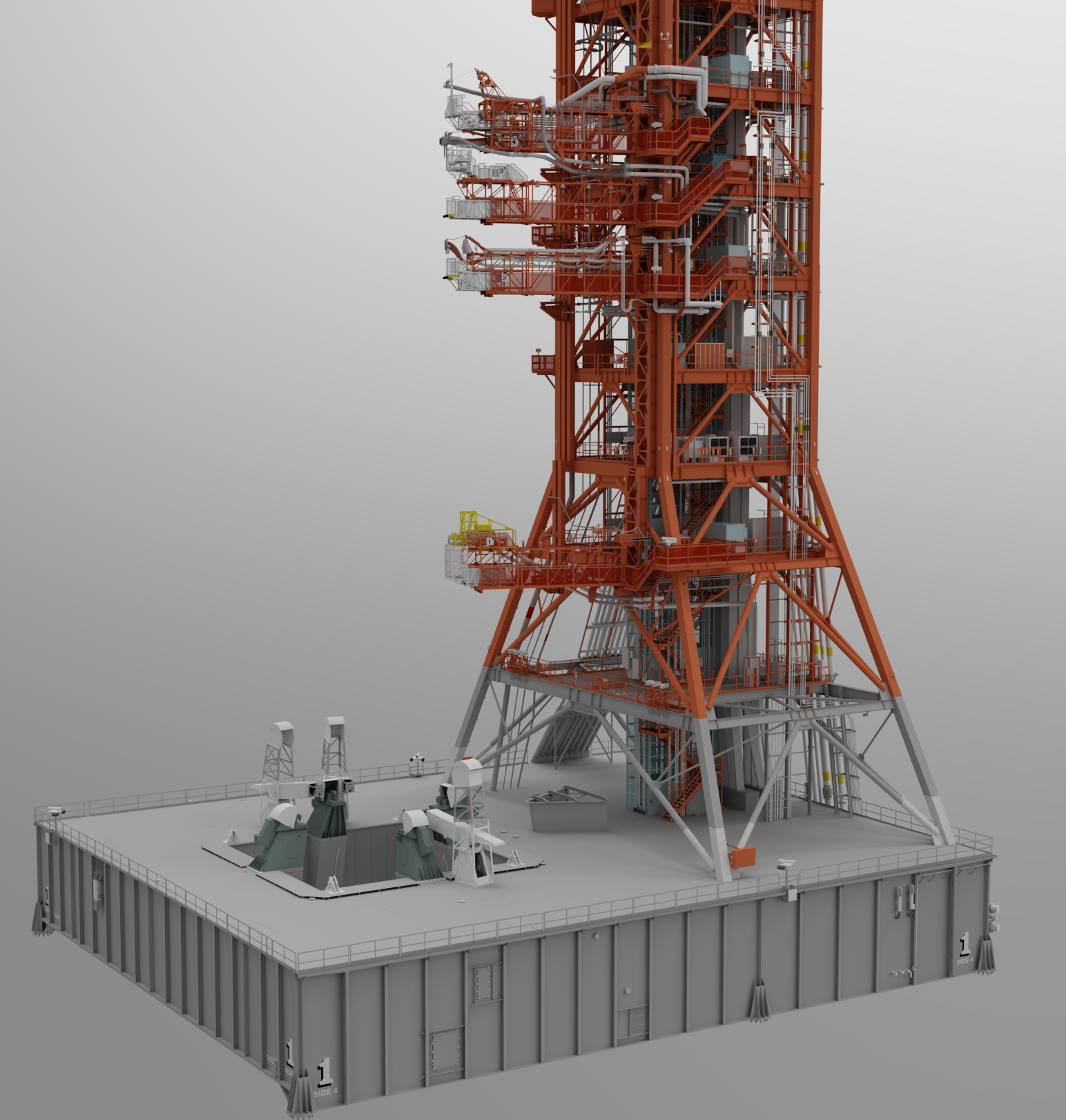 Finished Launcher Platform