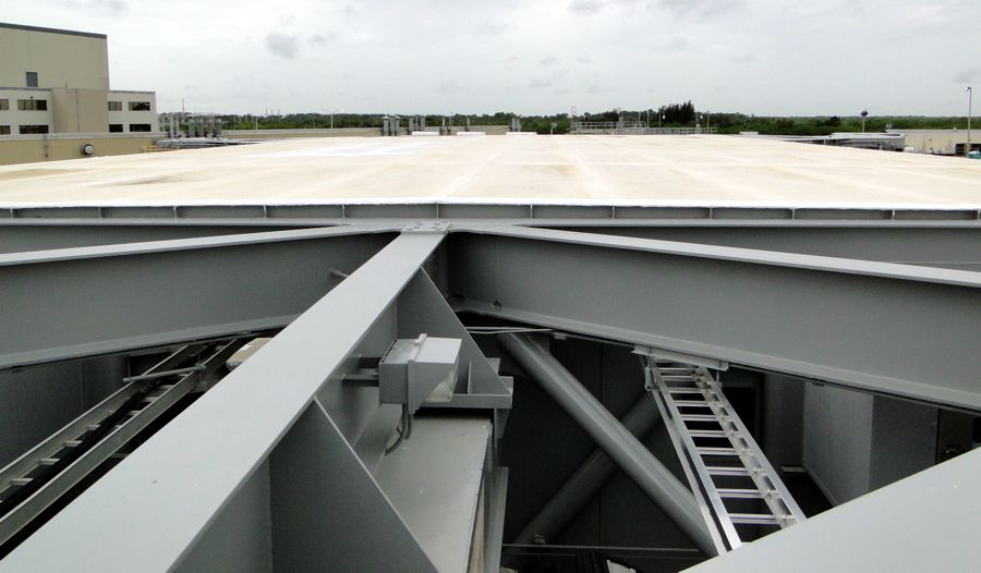 Roof of the Crawler Transporter